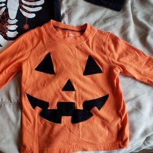 Carter's Halloween shirts 2T -Gender neutral